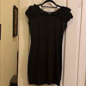 Forever 21 ruffle sleeve dress